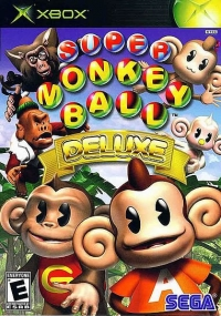 Super Monkey Ball Deluxe Box Art