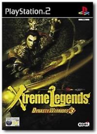 Dynasty Warriors 3 Xtreme Legends Box Art