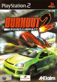 Burnout 2: Point of Impact Box Art
