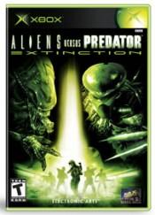 Aliens Versus Predator: Extinction Box Art