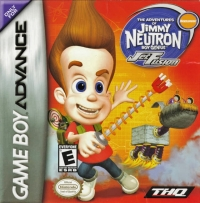 Adventures of Jimmy Neutron Boy Genius, The: Jet Fusion Box Art