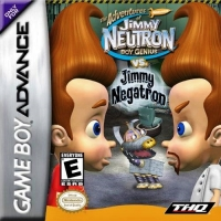 Adventures of Jimmy Neutron vs. Jimmy Negatron, The Box Art