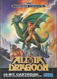 Alisia Dragoon Box Art