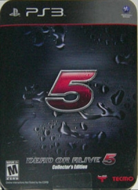 Dead or Alive 5 - Collector's Edition Box Art