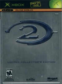 Halo 2 - Limited Collector's Edition Box Art