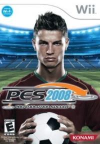 Pro Evolution Soccer 2008 Box Art