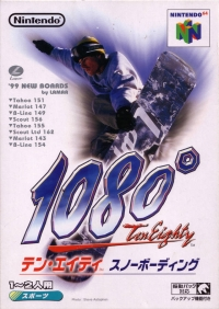 1080: TenEighty Snowboarding Box Art