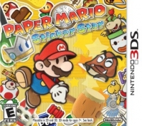 Paper Mario: Sticker Star Box Art