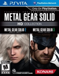 Metal Gear Solid HD Collection Box Art