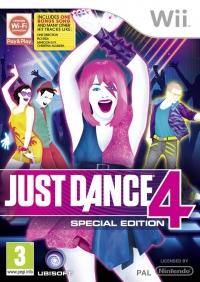 Just Dance 4 Box Art
