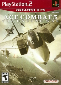 Ace Combat 5: The Unsung War - Greatest Hits Box Art