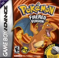 Pokémon: Fire Red Version Box Art