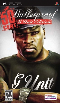 50 Cent: Bulletproof - G Unit Edition Box Art