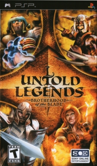 Untold Legends: Brotherhood of the Blade Box Art