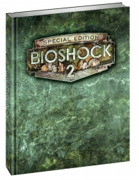 Bioshock 2 - Special Edition Hardcover Strategy Guide Box Art