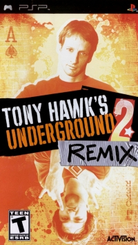 Tony Hawk's Underground 2: Remix Box Art