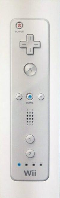 Nintendo Wii Remote - White (Locking Wrist Strap) Box Art
