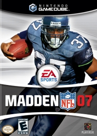 Madden NFL 07 Box Art
