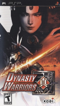 Dynasty Warriors Box Art