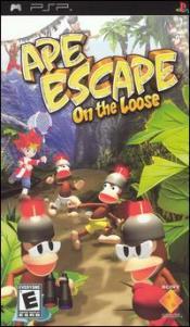 Ape Escape: On the Loose Box Art