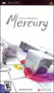 Archer Maclean's Mercury Box Art