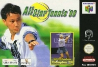 All Star Tennis 99 Box Art