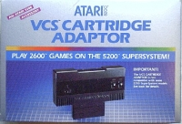 VCS Cartridge Adaptor Box Art