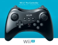 Wii U Pro Controller - Black [NA] Box Art
