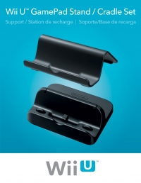 Wii U GamePad Stand / Cradle Set Box Art