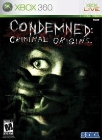 Condemned: Criminal Origins Box Art