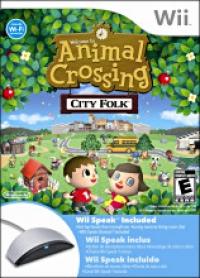Animal Crossing: City Folk (Wii Speak Included) Box Art