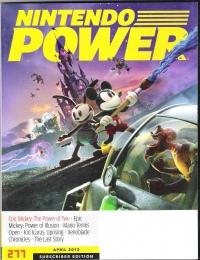 Nintendo Power - Volume 277 (April 2012) Box Art