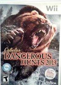 Cabela's Dangerous Hunts 2013 Box Art