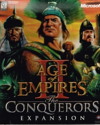 Age of Empires II: The Conquerors Expansion Box Art
