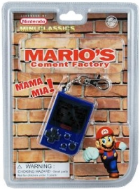 Mario's Cement Factory - Blue (Licensed by Nintendo) Box Art