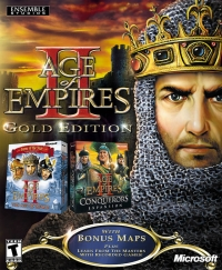 Age of Empires II - Gold Edition Box Art