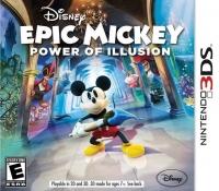 Disney Epic Mickey: Power of Illusion Box Art