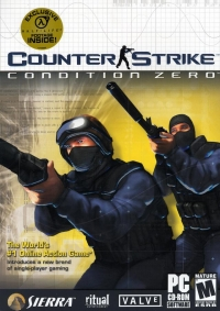 Counter-Strike: Condition Zero Box Art