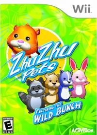 Zhu Zhu Pets: Featuring the Wild Bunch Box Art