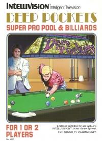 Deep Pockets Super Pro Pool & Billiards Box Art