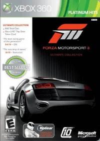 Forza Motorsport 3: Ultimate Edition - Platinum Hits Box Art
