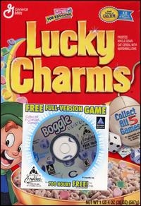 Boggle (General Mills) Box Art