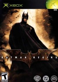 Batman Begins Box Art