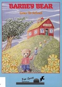 Barney Bear Goes To School Box Art