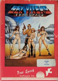 Sex Vixens From Space Box Art