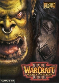 Warcraft III: Reign of Chaos (Thrall Cover) Box Art