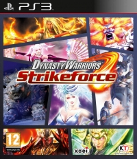 Dynasty Warriors: Strikeforce Box Art