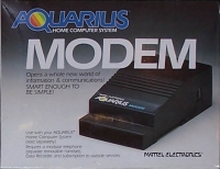 Mattel Electronics Modem Box Art