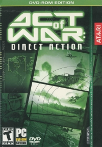 Act of War: Direct Action Box Art