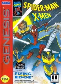 Spider-Man and the X-Men in Arcade's Revenge (Japan) Box Art